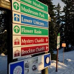 Photo taken at Seymour Mountain by Gabriel M. on 2/16/2013