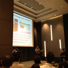 Photo taken at Novotel Bangkok Ploenchit Sukhumvit by Joe C. on 9/24/2012