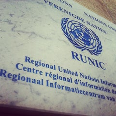 Photo taken at United Nations Regional Information Centre for Western Europe (UNRIC) by Maud D. on 8/5/2013