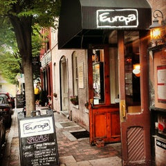 Photo taken at Europa Italian Cafe & Tapas Bar by Dane A. on 8/8/2013