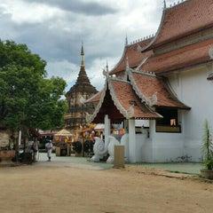 Photo taken at วัดเจ็ดลิน (Wat Chet Lin) by Lander S. on 6/11/2015