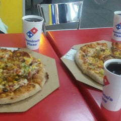 Photo taken at Domino's Pizza by Fahrettin K. on 5/19/2015