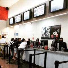 Photo taken at Cinemark by Cassio M. on 3/22/2015