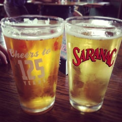 Photo taken at Saranac Brewery (F.X. Matt Brewing Co.) by Alejandro H. on 7/27/2013
