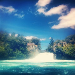 Photo taken at Huka Falls by Christopher L. on 1/26/2013