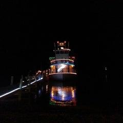 Photo taken at Island Time Cruises Paddlewheel Boat by David H. on 1/1/2013