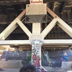 Photo taken at Burnside Skate Park by shibuyahiyoko on 6/11/2015