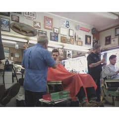 Photo taken at Joe's Barbershop Chicago by Eric on 3/8/2014
