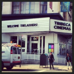 Photo taken at Tribeca Cinemas by Courtney O. on 6/18/2013