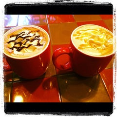 Photo taken at The Corner Perk Cafe, Dessert Bar, and Coffee Roasters by Corner P. on 10/27/2012