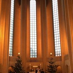 Photo taken at Grundtvigskirken by M O. on 12/29/2015