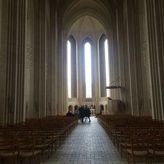 Photo taken at Grundtvigskirken by Louise H. on 4/17/2016