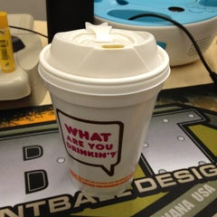 Photo taken at Dunkin' Donuts by Nicole G. on 11/9/2012