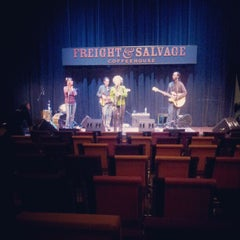 Photo taken at Freight & Salvage Coffeehouse by Charith P. on 1/22/2013