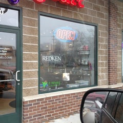 Photo taken at Amy's Hair Hydeaway by Amy J. on 11/21/2012