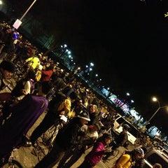 Photo taken at Bay Fair BART Station by Jason W. on 1/12/2013