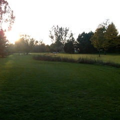 Photo taken at Epple Park Disc Golf Course by Christopher T. on 10/5/2012