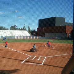 Photo taken at Rita Hillenbrand Memorial Stadium by Carlos R. on 10/12/2012