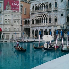 Photo taken at Venetian Canal by Tinahia S. on 10/5/2012