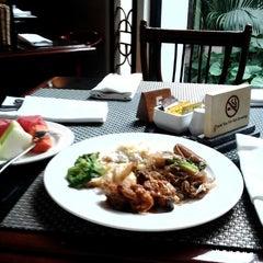 Photo taken at Hotel Bumi Surabaya by R T. on 12/15/2012