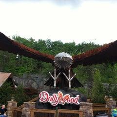 Photo taken at Dollywood by Kerri on 5/8/2013