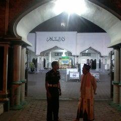 "Photo taken at Masjid Agung ""DARUSSALAM"" Bojonegoro by Abine_ Z. on 10/25/2013"