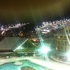 Photo taken at Blue Mountain Resort by Berrak D. on 1/27/2013