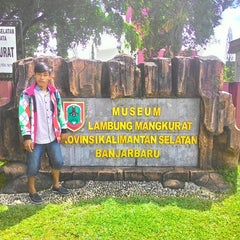 Photo taken at Museum Lambung Mangkurat Banjarbaru by Tomy I. on 5/30/2015