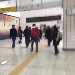 Photo taken at 한강진역 (Hangangjin Stn.) by Yoonho C. on 12/2/2013