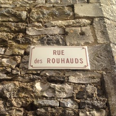 Photo taken at Rue des Rouhauds by Agnes R. on 5/5/2014