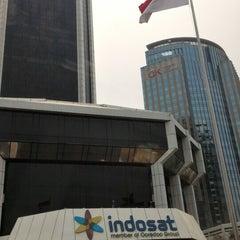Photo taken at Kantor Pusat PT. Indosat Tbk. by Grace S. on 9/15/2015