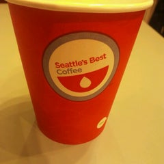 Photo taken at Seattle's Best Coffee - SeaTac Airport Main Terminal by かゆ on 10/23/2012