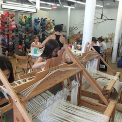 Photo taken at Textile Arts Center - BK by Andie on 6/21/2014