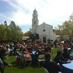 Photo taken at Saint Mary's College of California by Candy E. on 3/26/2013