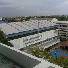 Photo taken at โรงเรียนสตรีสมุทรปราการ (Streesmutprakan School) by Gig A. on 6/3/2015