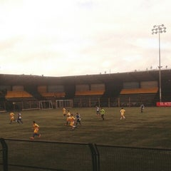 Photo taken at Estadio Ruben Marcos Peralta by AndreaKarina on 6/30/2014