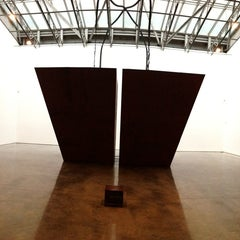 Photo taken at Gladstone Gallery by Jan S. on 2/23/2013