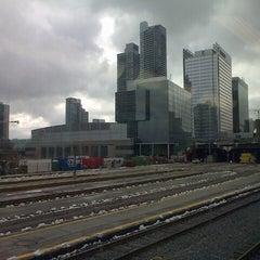 Photo taken at Union Station Platform 5 by Dru B. on 2/28/2013
