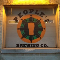 Photo taken at People's Brewing Company by Andy R. on 1/24/2013