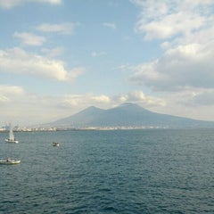 Photo taken at Lungomare di Napoli by Francesco O. on 2/16/2013
