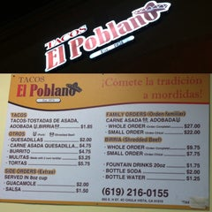 Photo taken at Tacos El Poblano by Chuck F. on 11/15/2013