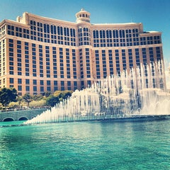 Photo taken at Bellagio Hotel & Casino by mike c. on 3/31/2013