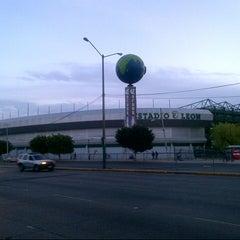 Photo taken at Estadio León by Lorenzo Alejandro L. on 11/24/2012
