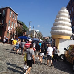 Photo taken at Fells Point by kate r. on 10/5/2013