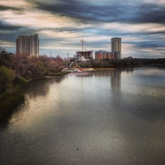 Photo taken at Lady Bird Lake by Dress for the Date on 3/10/2013