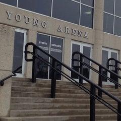 Photo taken at Young Arena by John Matthew W. on 2/21/2015