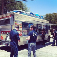 Photo taken at Mandoline Grill Truck by Pam S. on 6/26/2013