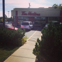 Photo taken at Tim Hortons by Alan F. on 9/21/2013