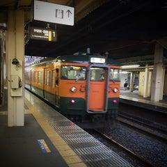 Photo taken at 石橋駅 (Ishibashi Sta.) by Masato K. on 10/24/2015