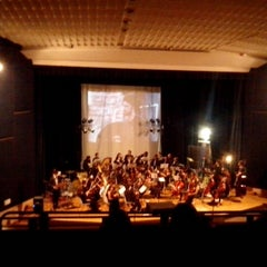 Photo taken at Cinema Teatro MPX by Rossella C. on 12/18/2012